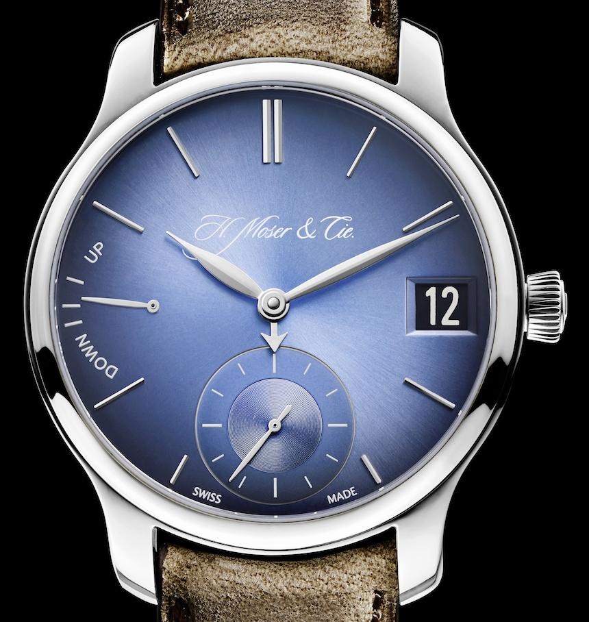 H Moser Cie Endeavour Perpetual Calendar Funky Blue - Perpetuelle