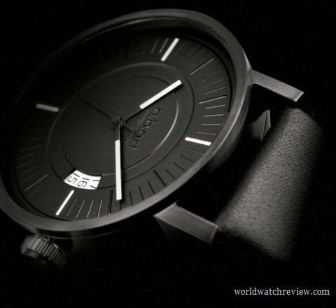 A.B.Art Special OA All Black automatic wrist watch