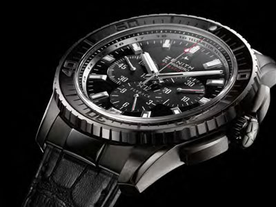 In search of Zenith El Primero Stratos Chronograph Steel Replica Timepiece