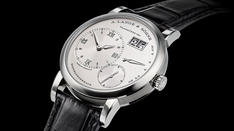 Stainless Steel A. Lange & Söhne Lange 1 Big Date Power Reserve mechanical Watch Ref.191.039