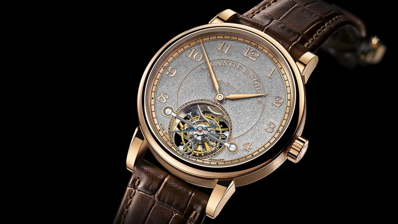 A. Lange & Söhne 1815 Tourbillon Handwerkskunst Rose Gold Fake Watch Ref.730.048F