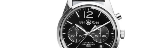 Bell&Ross Vintage Original BR 126 Black Officer