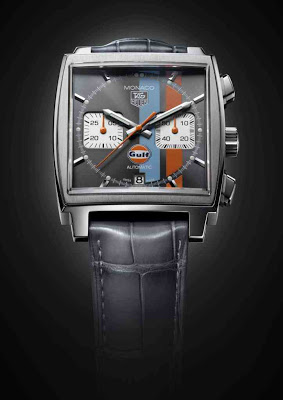 Tag Heuer Monaco Calibre 12 Chronograph Gulf replica