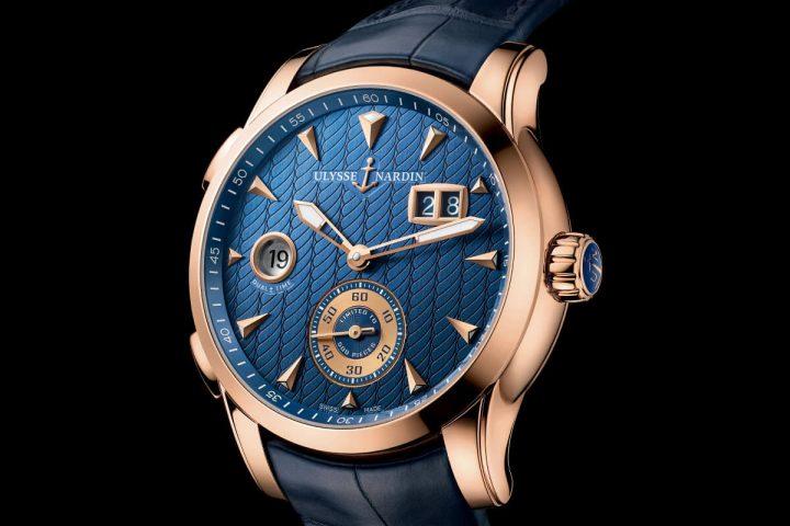 Ulysse Nardin Dual Time Manufacture copy watch