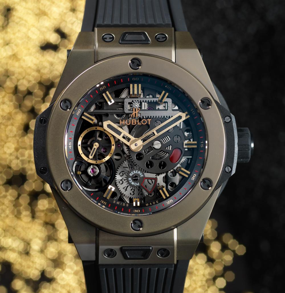 Hublot Big Bang MECA-10 Magic Gold Watch Watch Releases
