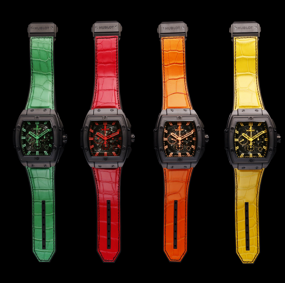 Hublot Spirit Of Big Bang All Black Watch In Four Colorways Watch Releases