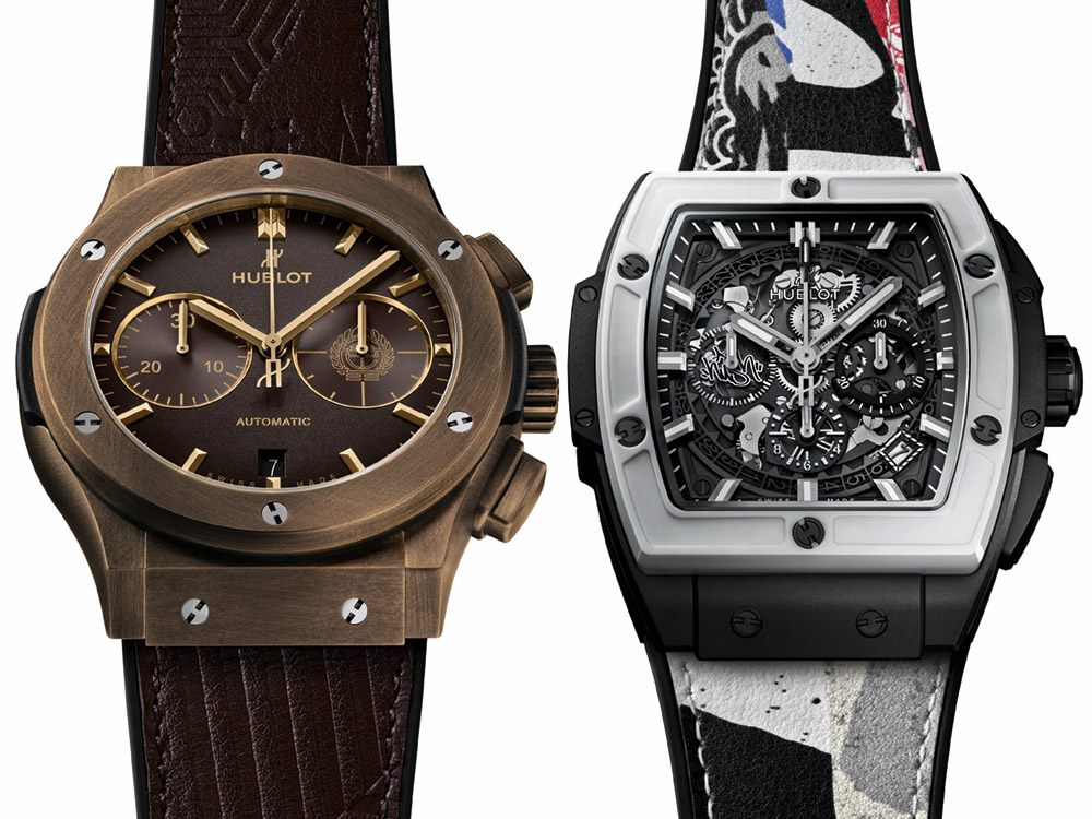 82abf2fc4cb0 Hublot Spirit Of Big Bang   Classic Fusion Chronograph Watches  Collaboration With Street Artists Watch Releases