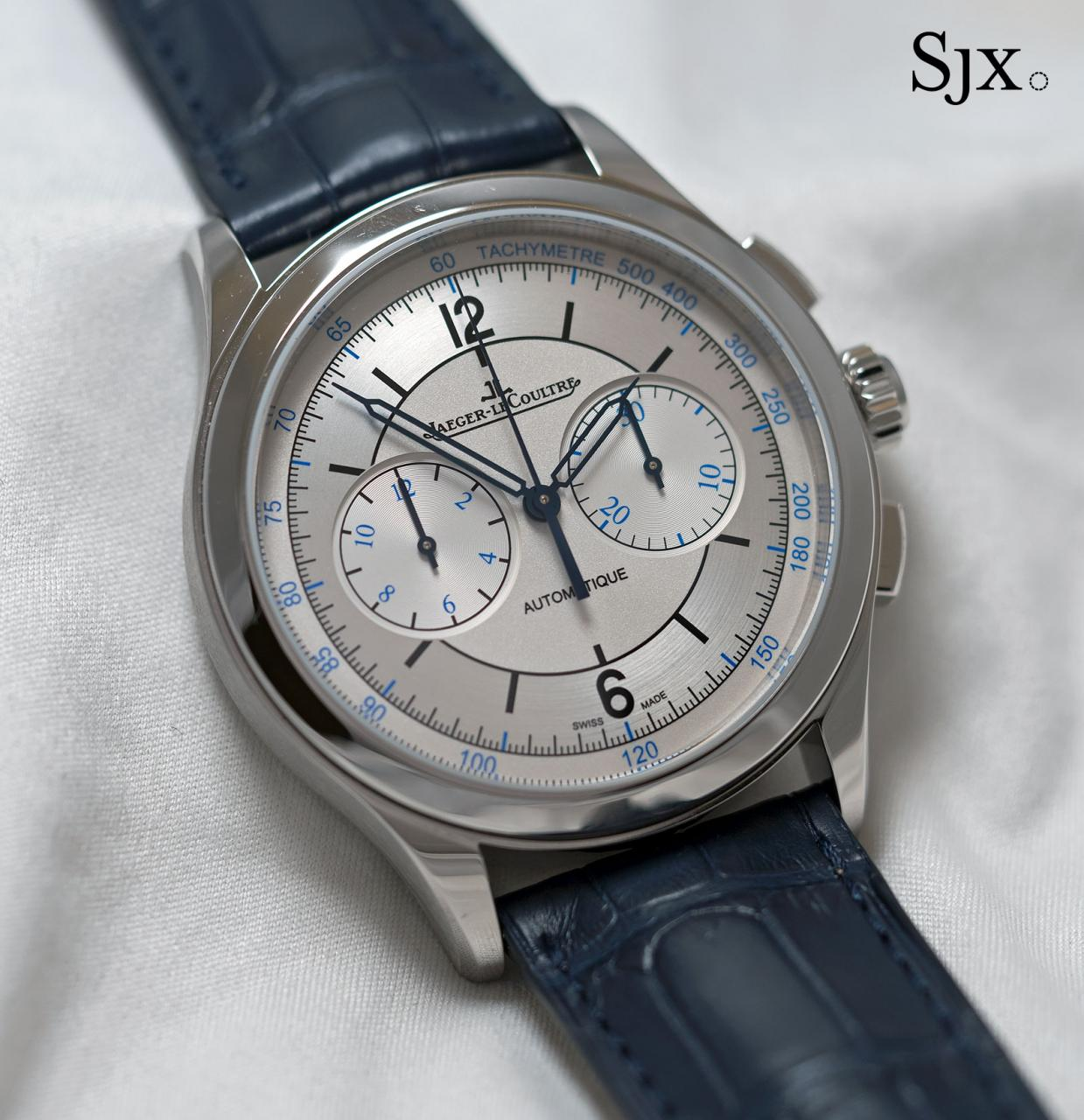 Jaeger-LeCoultre Master Control Chronograph sector dial 1