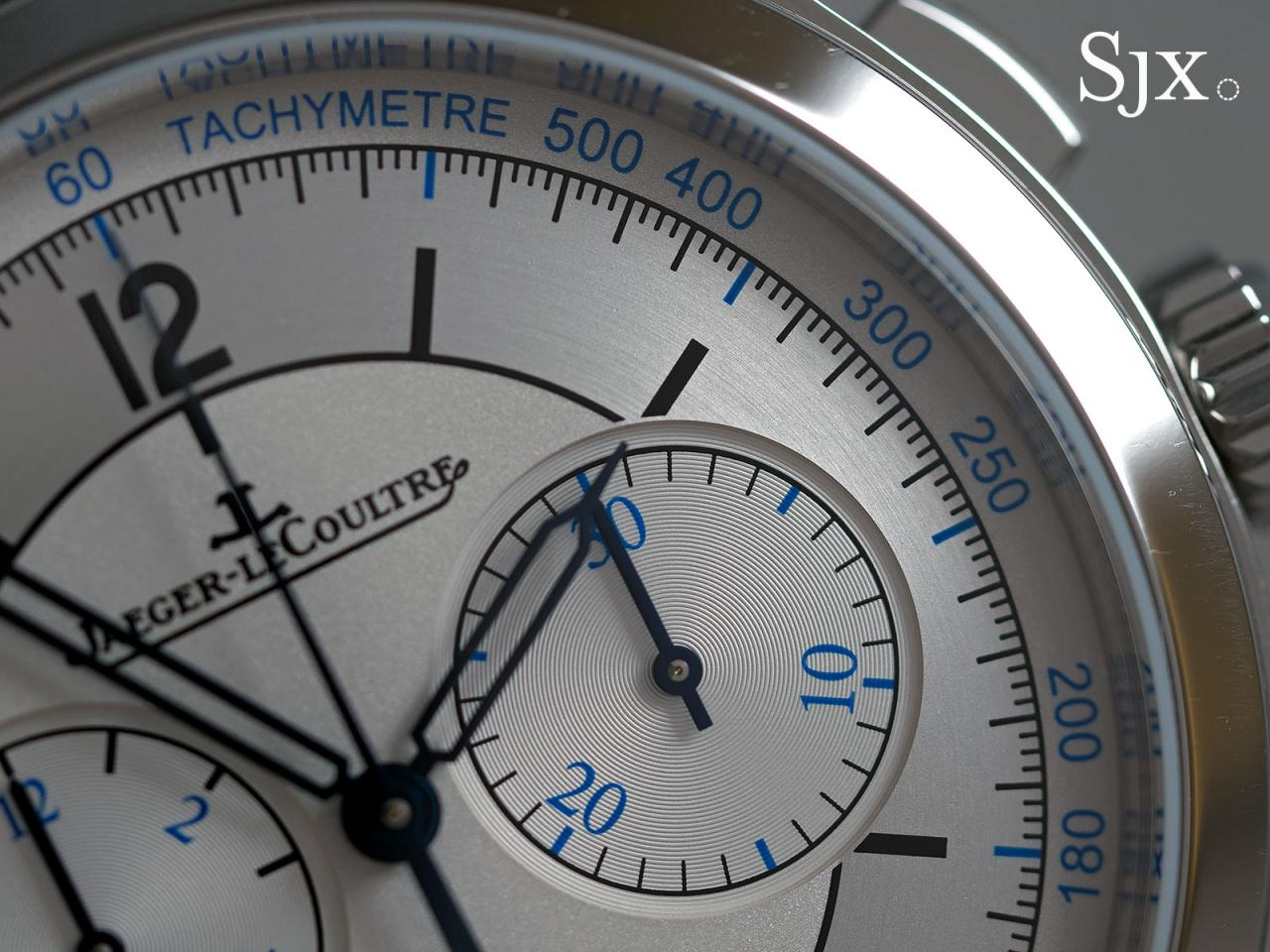 Jaeger-LeCoultre Master Control Chronograph sector dial 2