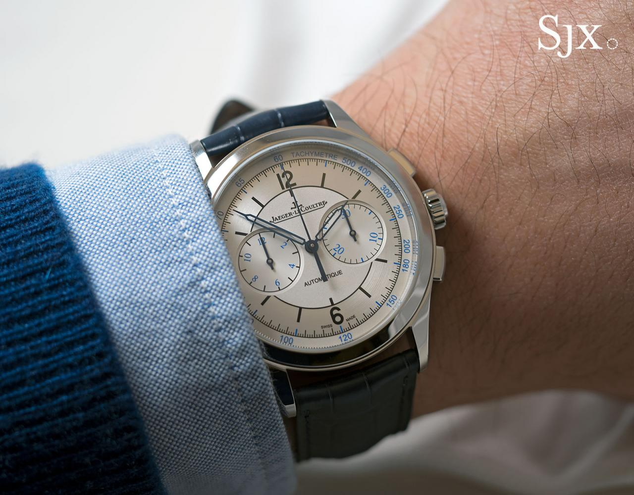 Jaeger-LeCoultre Master Control Chronograph sector dial 3