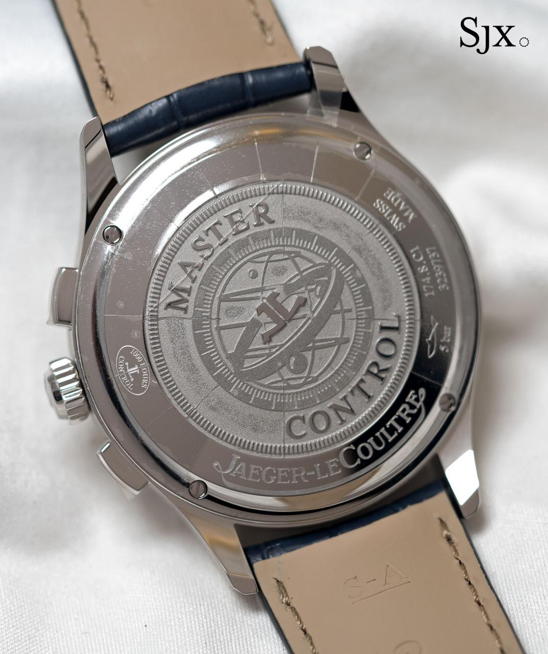Jaeger-LeCoultre Master Control Chronograph sector dial 4