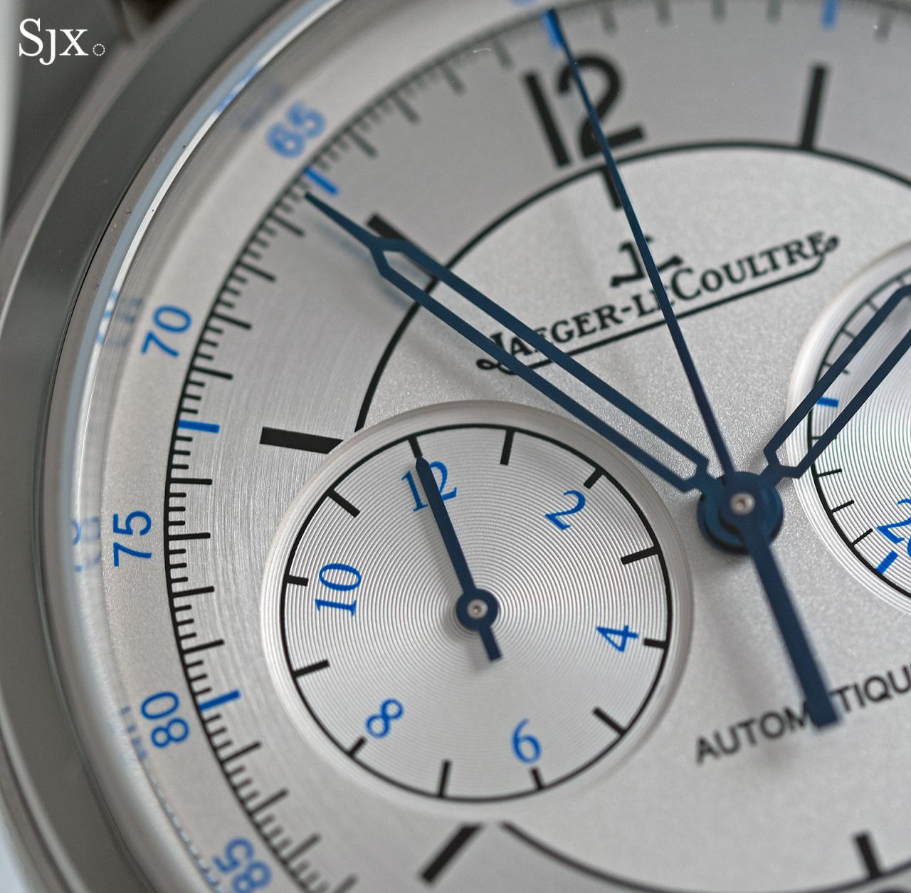 Jaeger-LeCoultre Master Control Chronograph sector dial 5