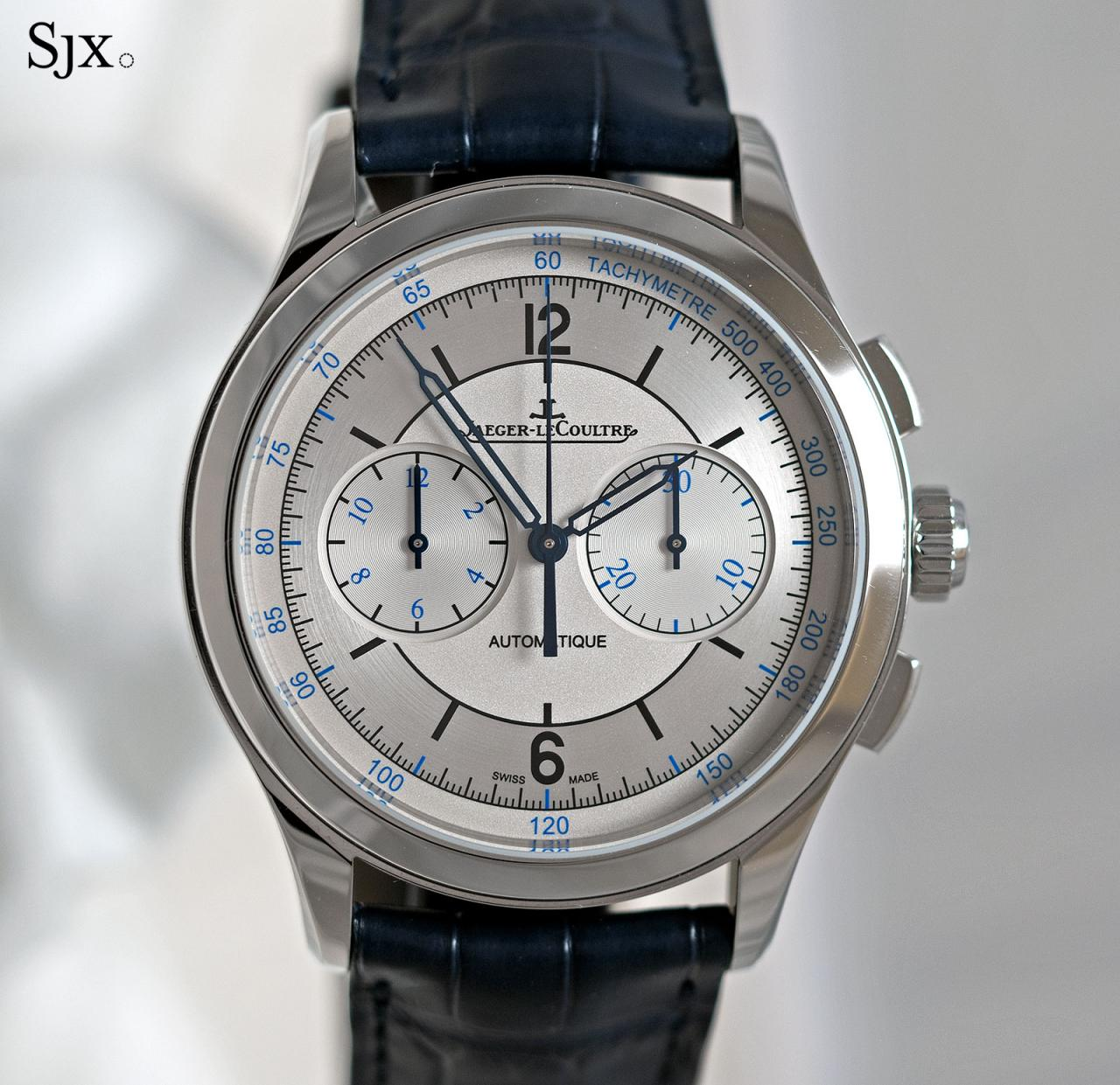 Jaeger-LeCoultre Master Control Chronograph sector dial 6