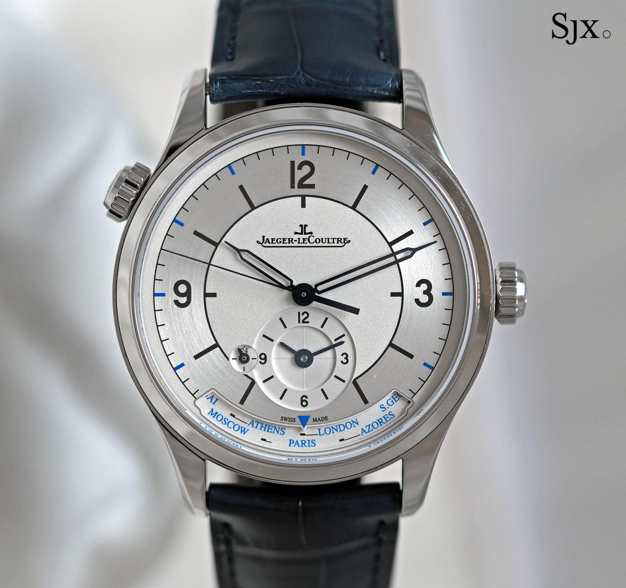 Jaeger-LeCoultre Master Control Geographic sector dial 5
