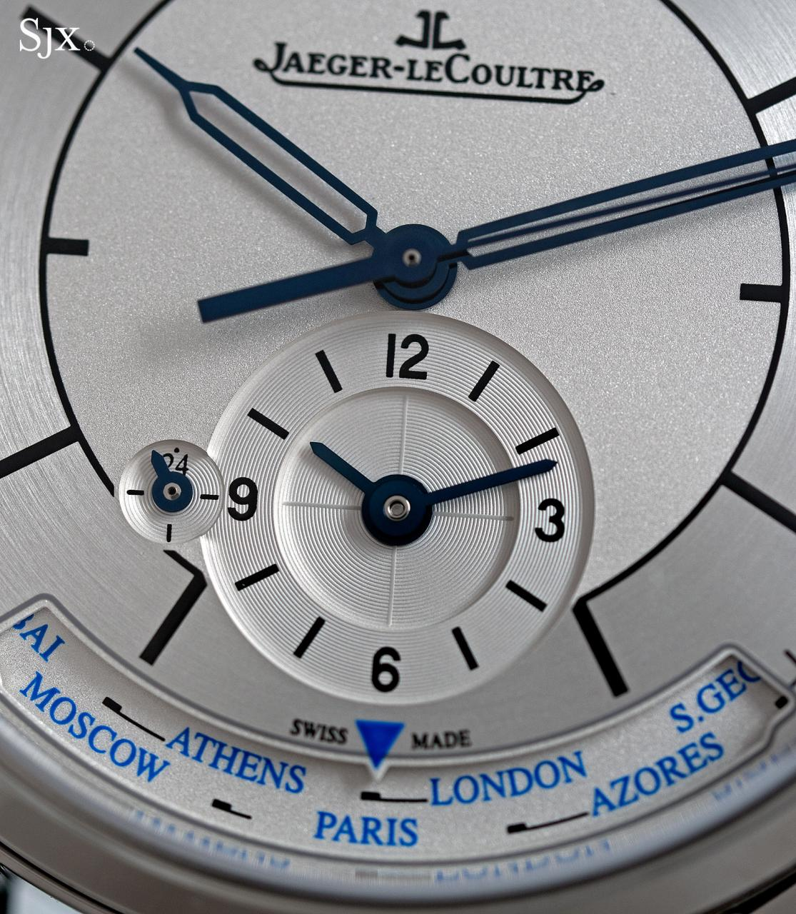Jaeger-LeCoultre Master Control Geographic sector dial 6