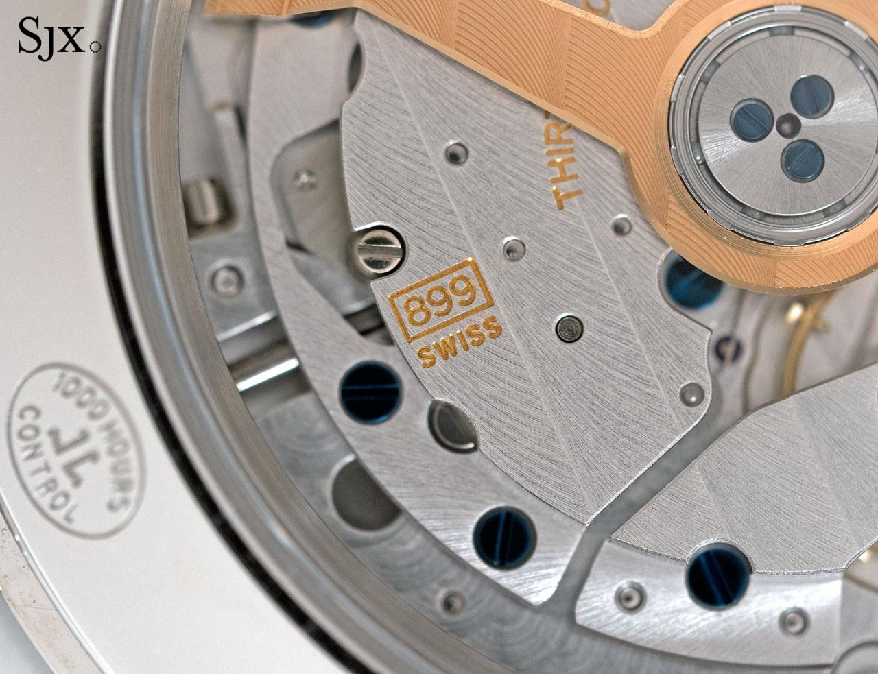 Jaeger-LeCoultre Master Control Geographic sector dial 8