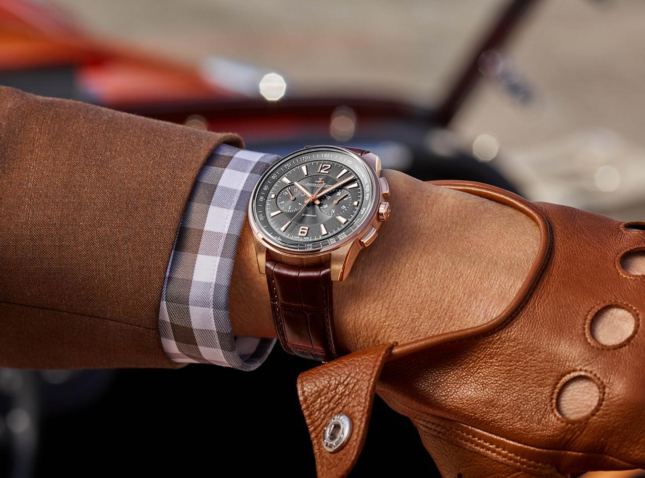 Jaeger-lecoultre polaris chronograph pinkgold-1-2