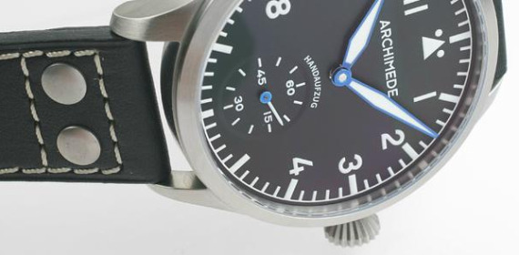 Archimede Pilot XL Manually Wound Watch With ETA 6498 TOP Movement Watch Releases
