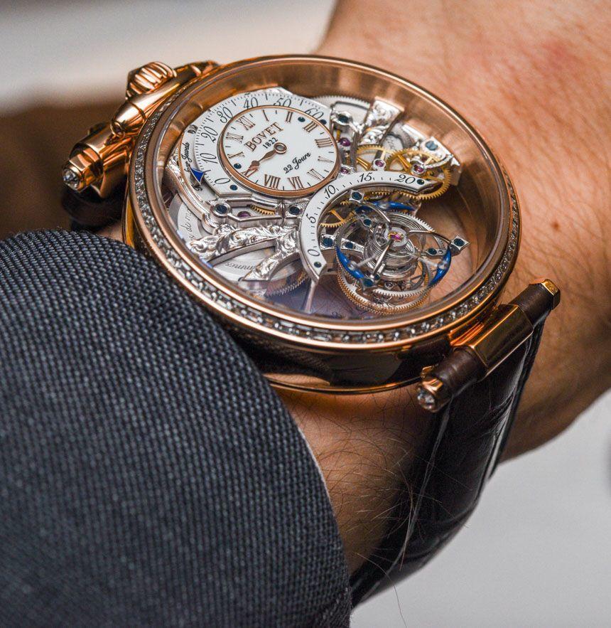 Bovet Amadeo Fleurier Tourbillon Braveheart Watch Hands-On Hands-On