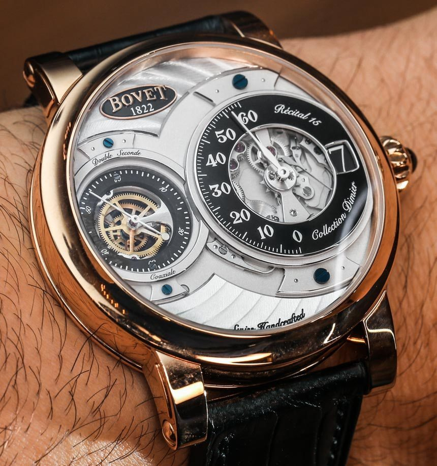 Bovet Recital 15 Watch Hands-On Hands-On