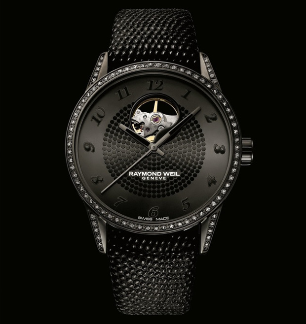 Ladids Raymond Weil Freelancer Tourbillo Replica Black Watch