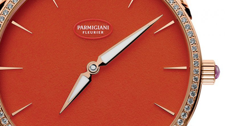 New Ladies Rose Gold Replica Parmigiani Tonda 1950 Poppy watch