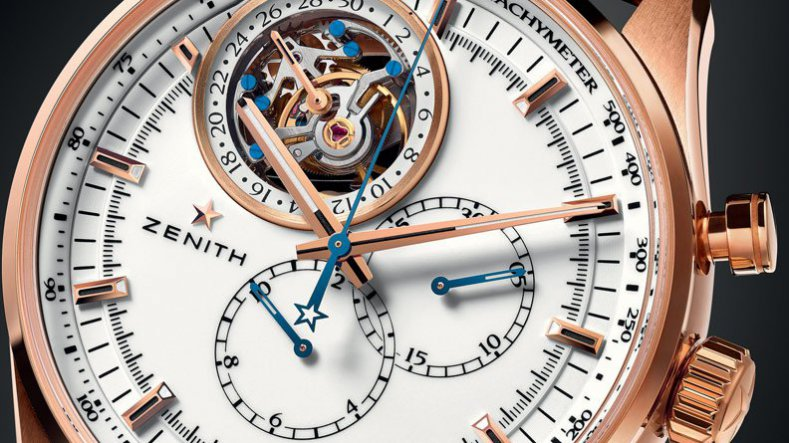 Speaking With Unique Zenith El Primero Tourbillon Chronograph Rose Gold and Steel Watch