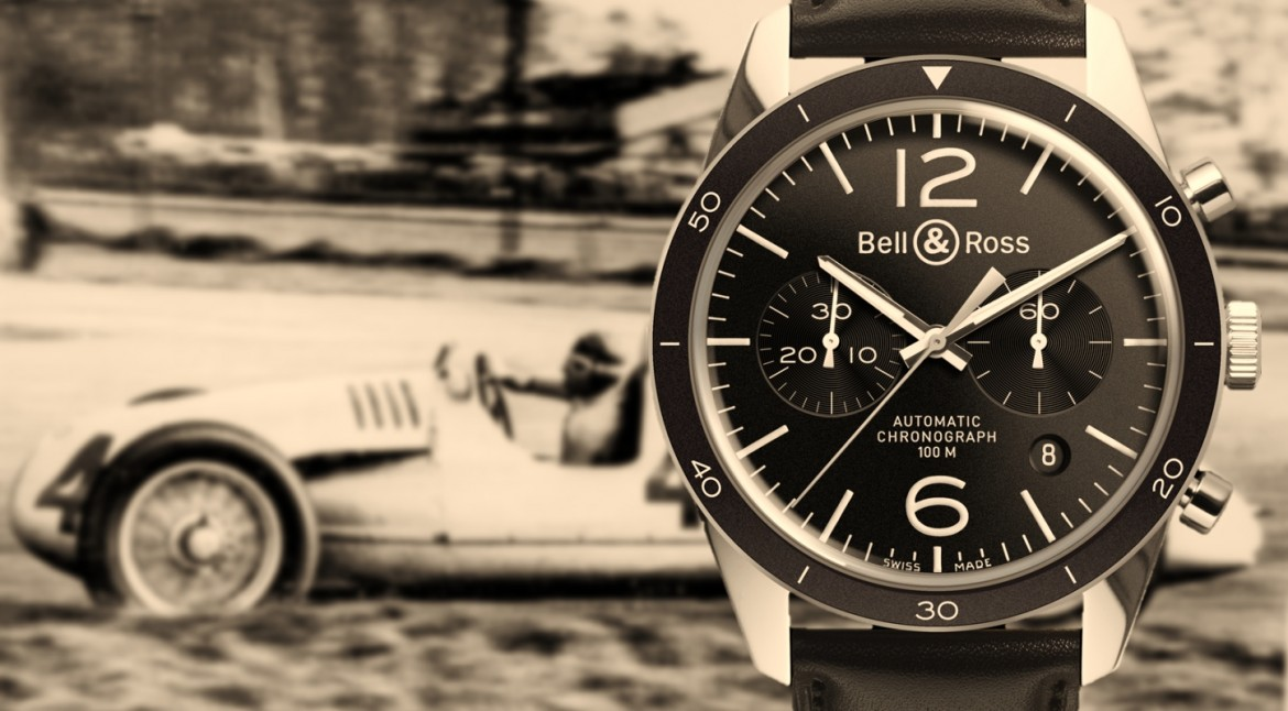 The Luminous Bell & Ross Vintage BR 126 Sport Chronograph Watch Replica