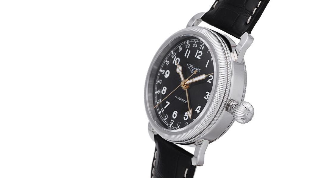 Top Quality Longines Avigation GMT Stainless Steel Automatic Replica Watch