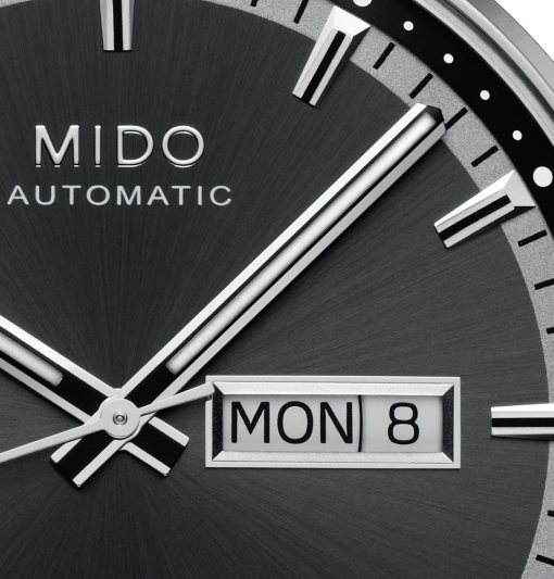 Reviewing The Simple Mido Commander Date Day Large Dial Watch Replica