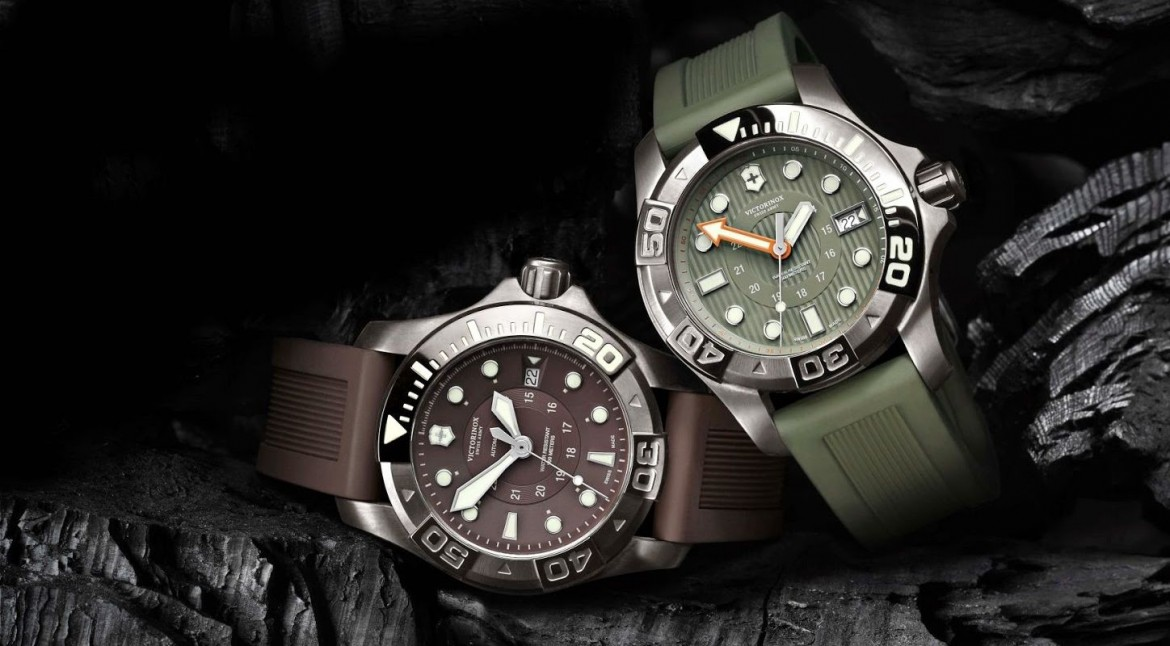 The Classic Mens Victorinox Swiss Army Dive Master 500 Watch Replica