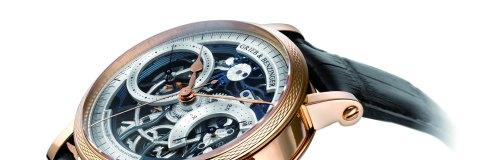Grieb & Benzinger Blue Wave monopusher chronograph
