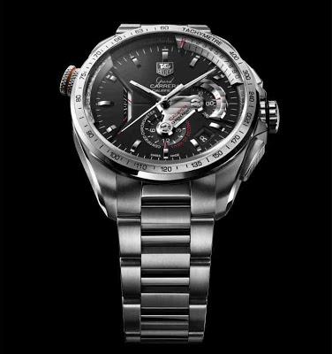 59e04b891fb9 Tag Heuer Grand CARRERA Calibre 36 RS Caliper Concept Replica Watch For Men