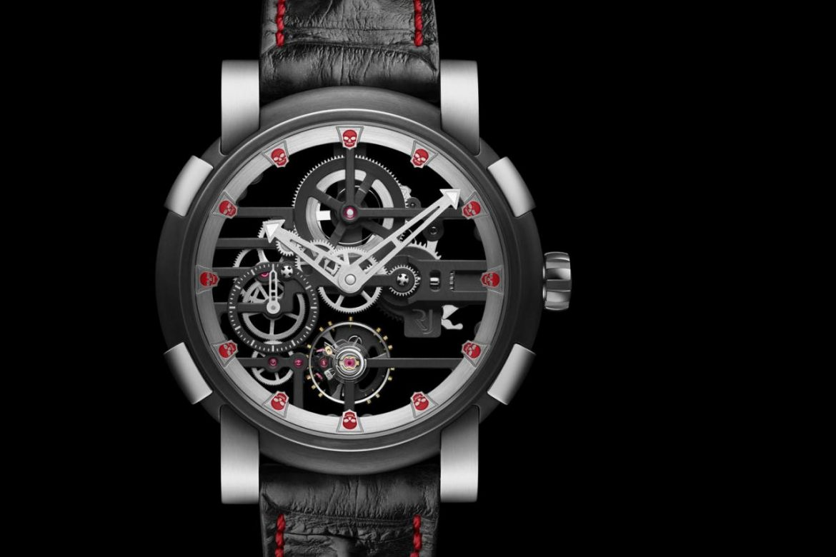 ROMAIN JEROME SKULL H9C SPEED METAL replica
