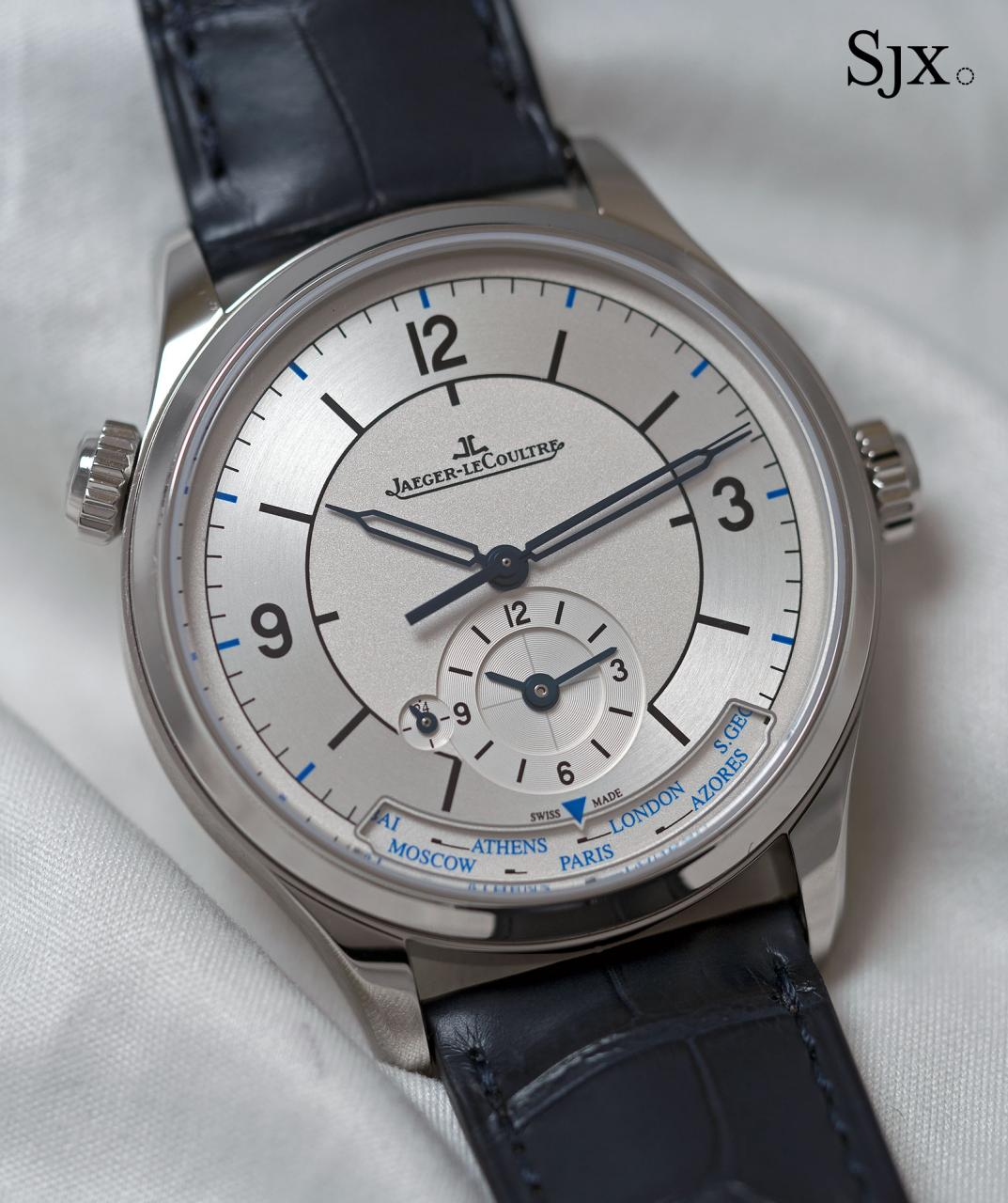 Jaeger-LeCoultre Master Control Geographic sector dial 2