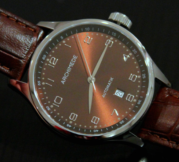 Archimede Arcadia Brown Watch Watch Releases