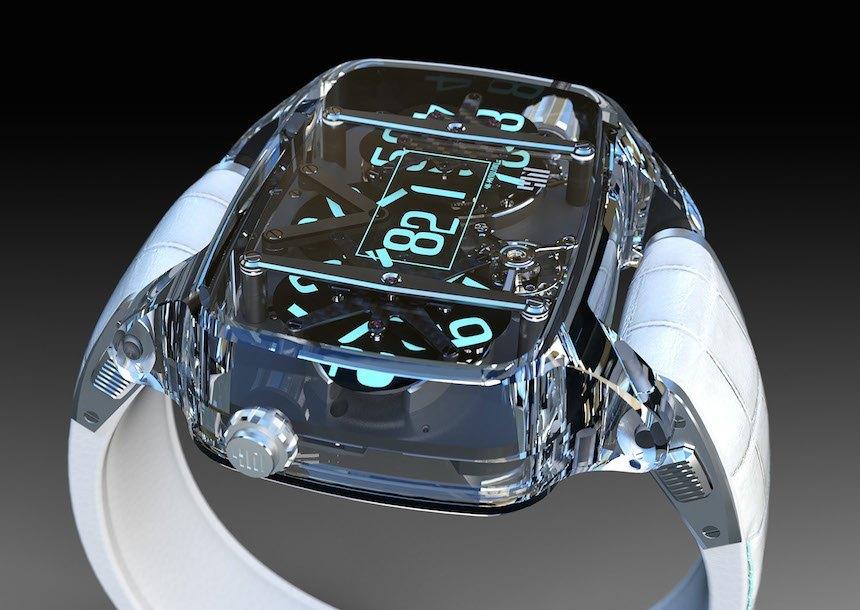 4N Sapphire Planet Fake Watch